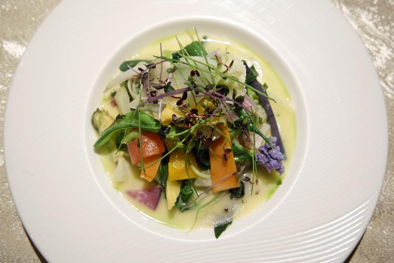 温野菜の盛り合わせ ガルグイユ