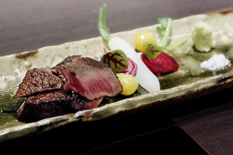熊本県産赤牛フィレ肉のロースト