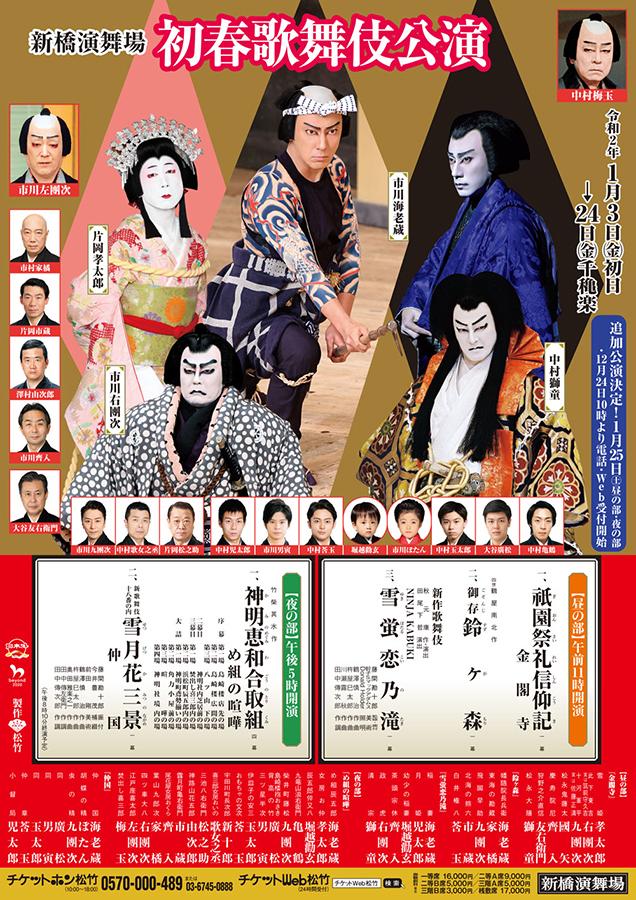 初春歌舞伎公演 昼の部