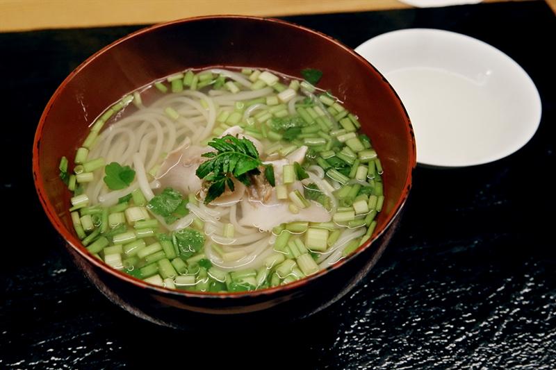 「蛤の煮麺」ふしきの