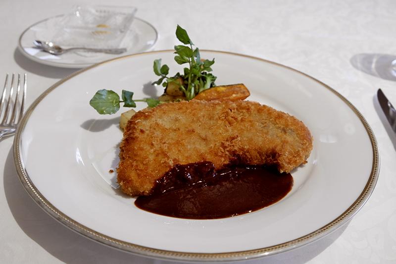 沖縄アグー豚ロース肉のカツレツ デミグラスソース「資生堂パーラー」