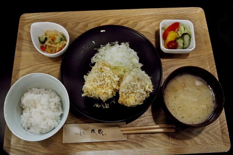 「TOKYO-X シャ豚ブリアンかつ定食」とんかつ成蔵