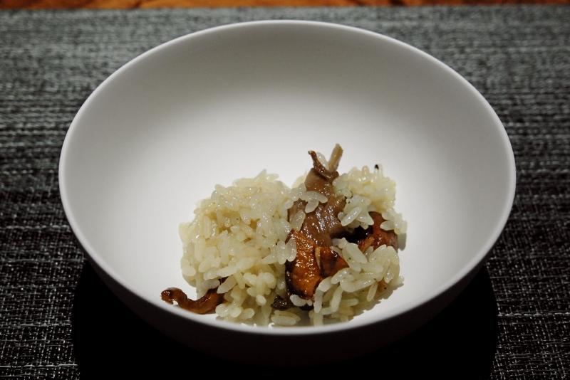 キノコとコンソメの炊き込みご飯