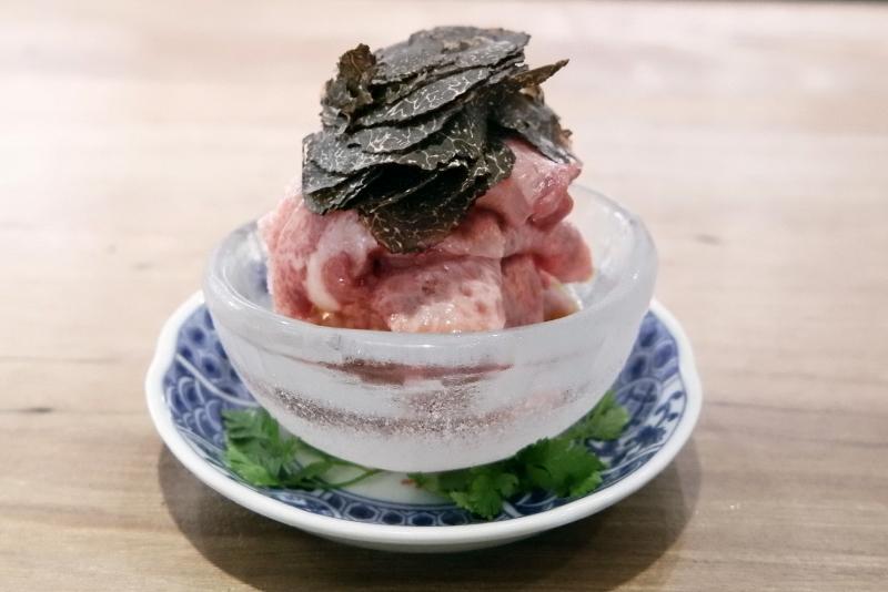 仙台牛 タン刺