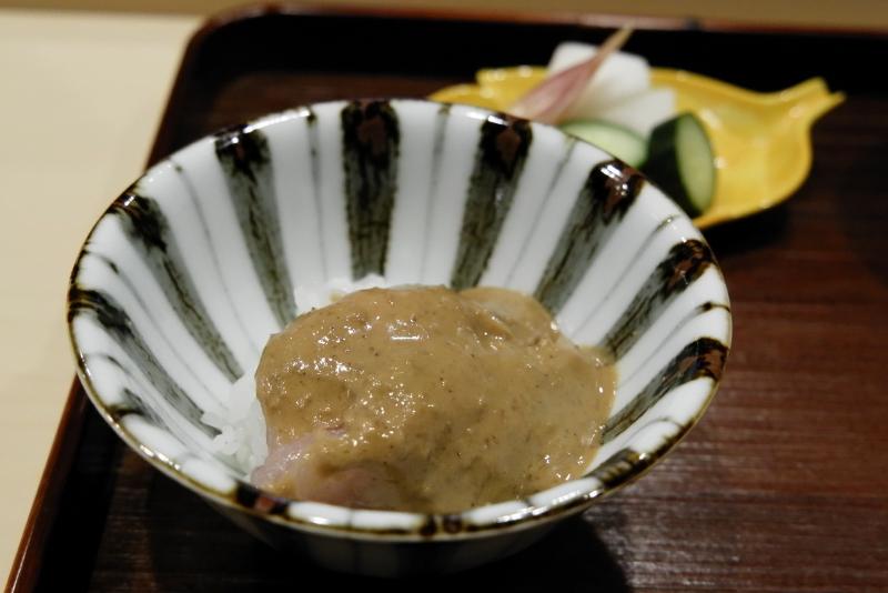 金目鯛ゴマだれご飯