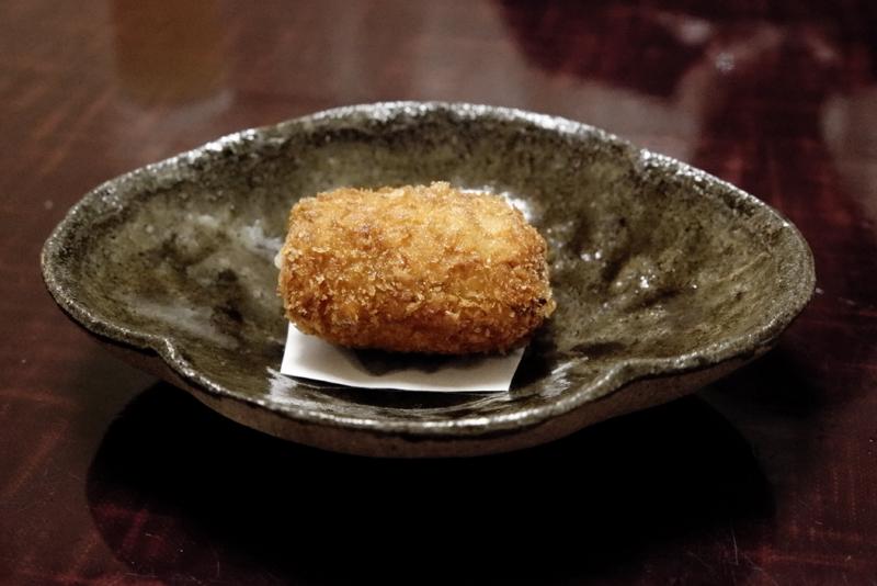 松茸のコロッケ