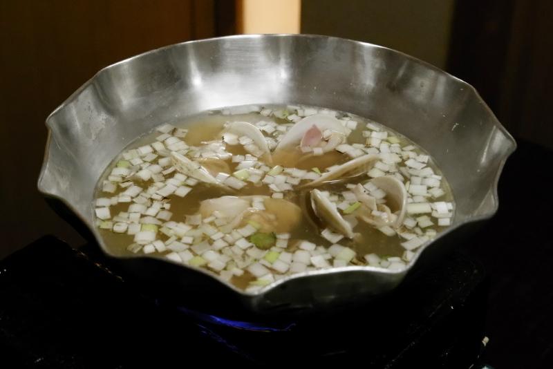茨城県鹿島産 ハマグリの鍋