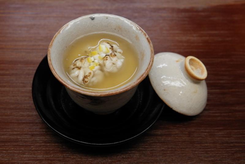 鱈白子の茶碗蒸し