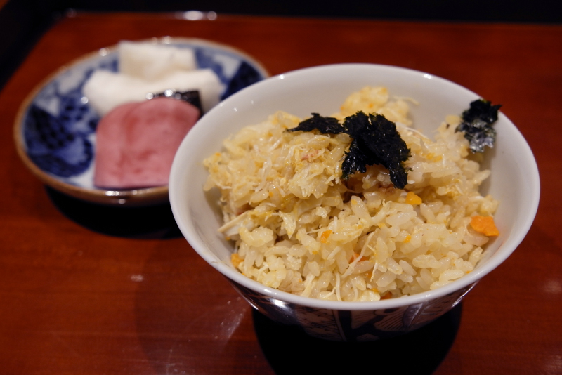 上海蟹ご飯」