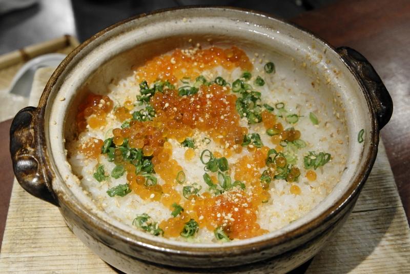 イクラの土鍋ご飯
