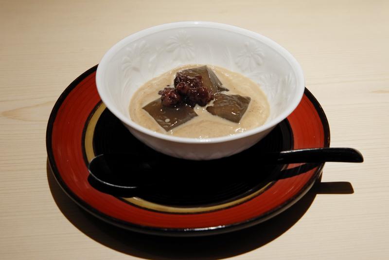 蕨餅、きな粉ミルク
