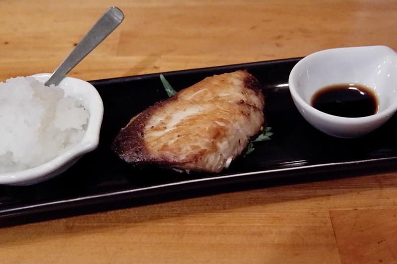 燻製鯖焼き