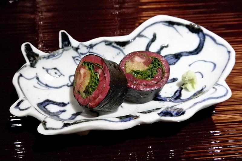 肉海苔巻き