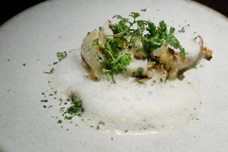 熊本タケノコとスミイカのソテー