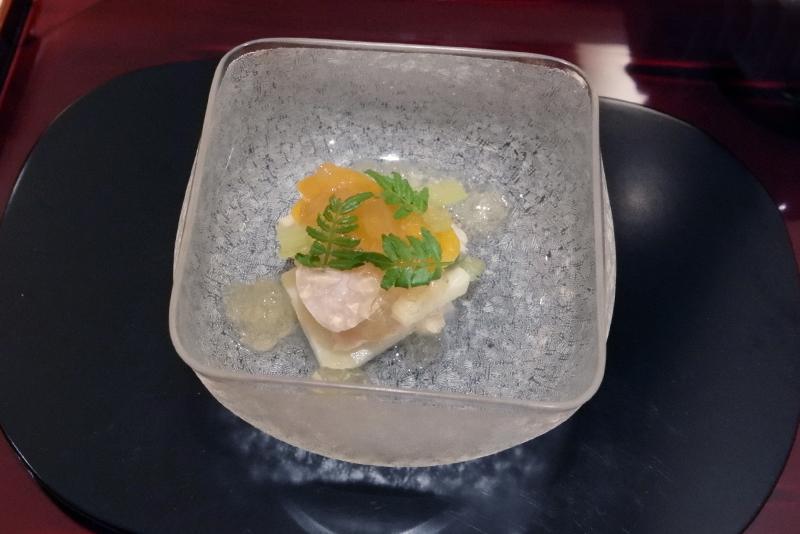 蛤、筍、蕗、唐墨
