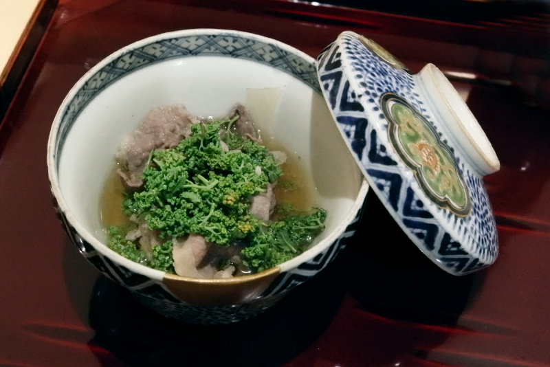 猪と花山椒の鍋