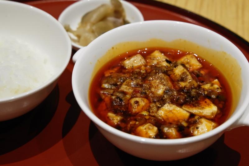 豆腐膳/四川飯店伝統の麻婆豆腐御膳