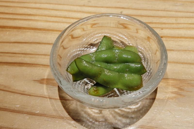 枝豆の山椒和え