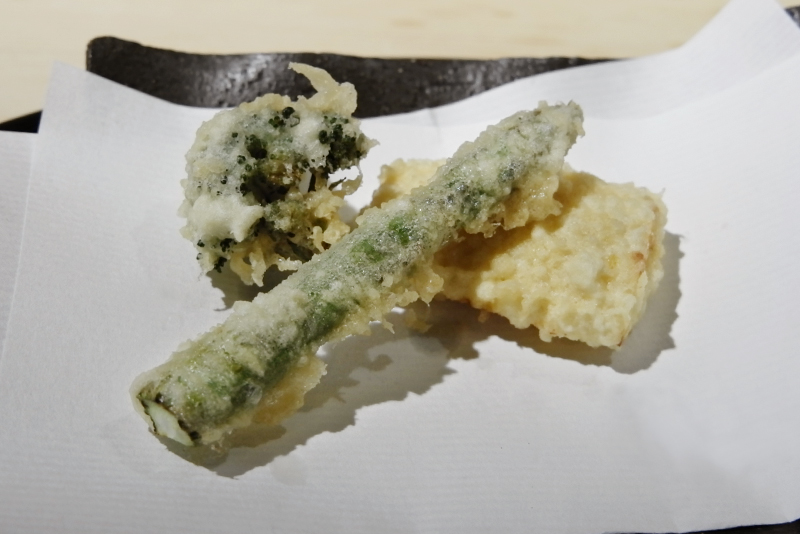 アスパラガス、玉蜀黍、ブロッコリー