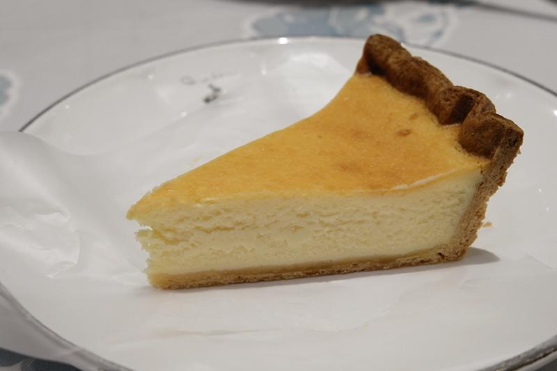 ブルターニュ産ル・ガールクリームチーズのタルト