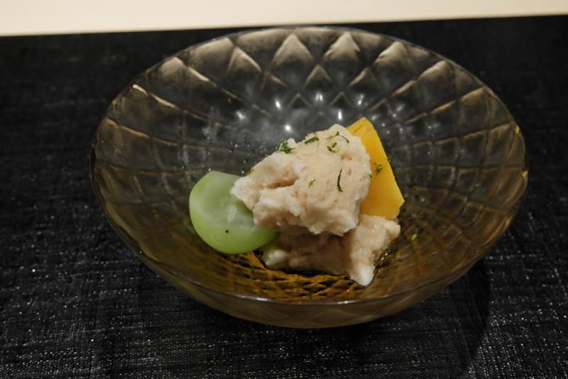 酢橘シャーベット、宮崎マンゴー、マスカット