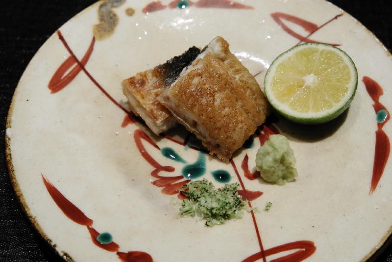 愛知県産鰻の白焼き