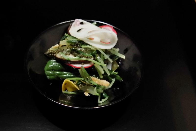 季節野菜のお浸し